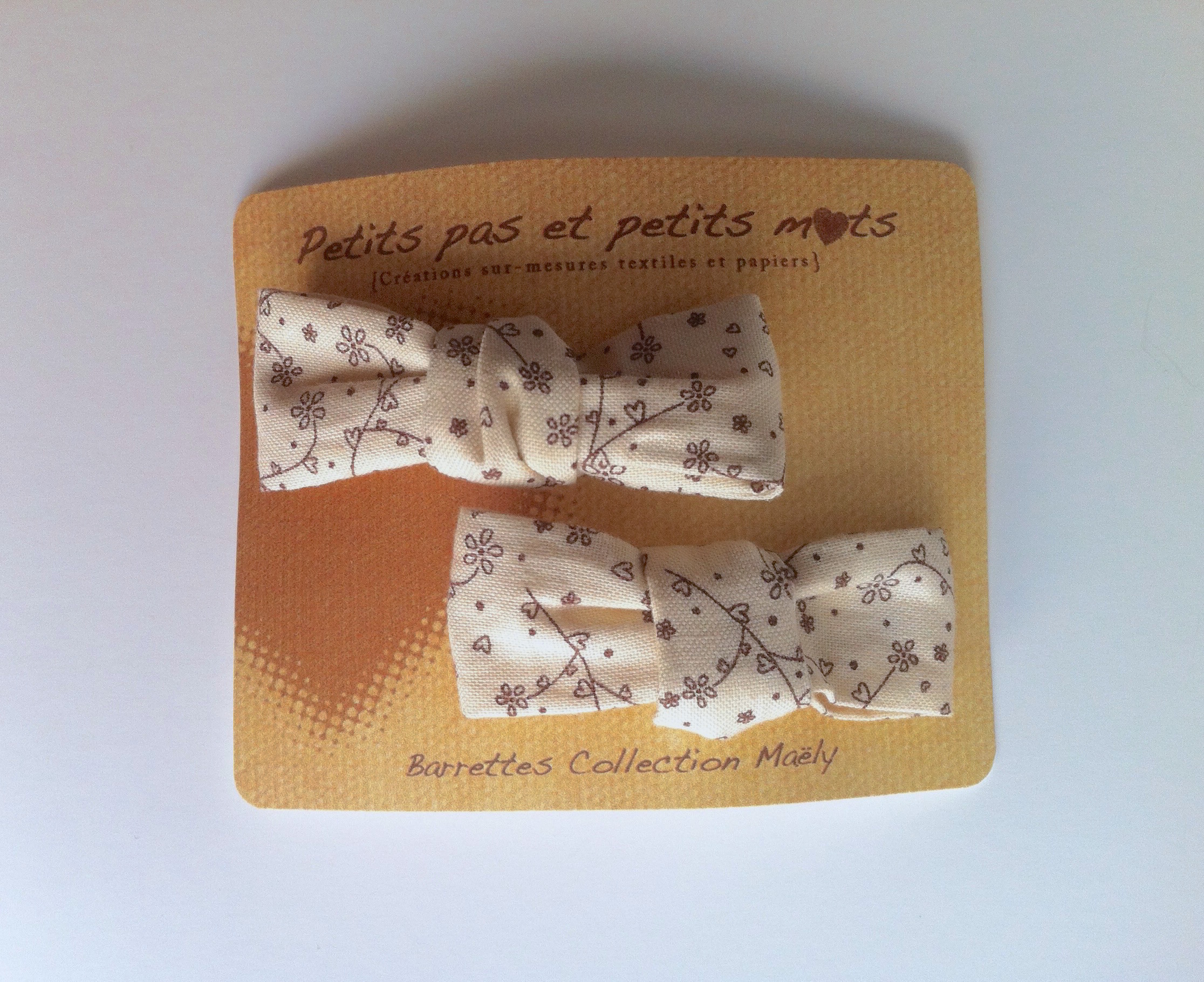 Barrettes collection Maely